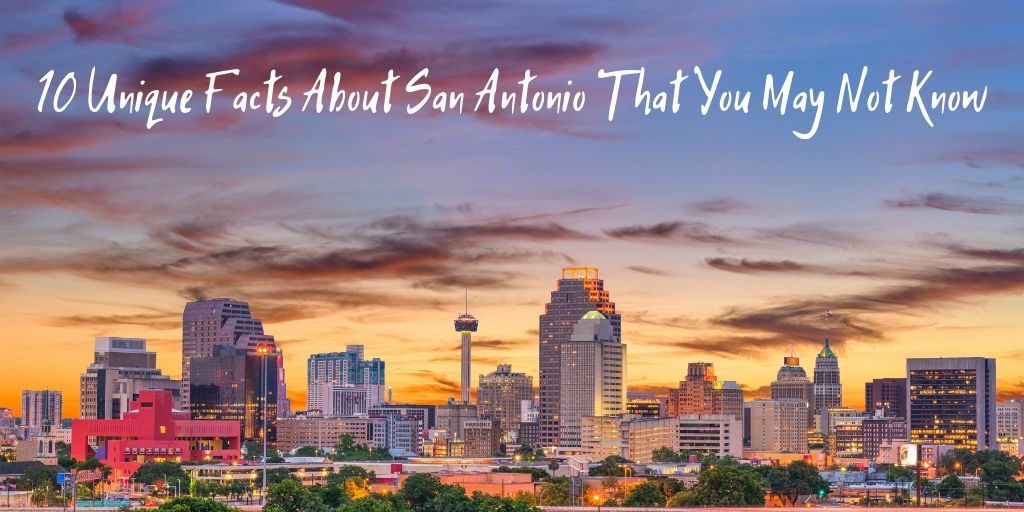 We all know about the River Walk, the Alamo, and SeaWorld...but what about these 10 unique facts about San Antonio you may not know?! There's still more to learn about San Antonio! Hopefully these are some new facts that you didn't know about San Antonio.